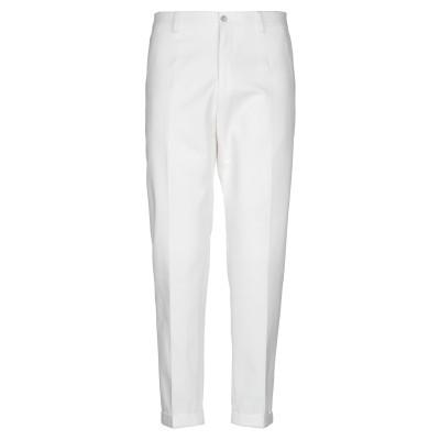 ドルチェ & ガッバーナ DOLCE & GABBANA パンツ ホワイト 54 コットン 100% パンツ