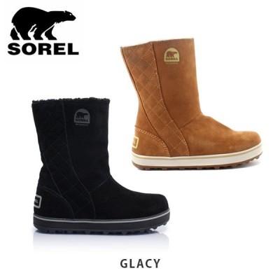 ソレル SOREL レディース スノーブーツ グレイシー GLACY ブーツ 防水 SORNL1975