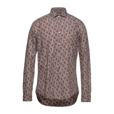 ブライアン デールズ BRIAN DALES シャツ オークル 40 コットン 100% シャツ