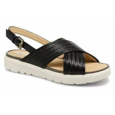 Geox レディースサンダル Geox Sandals D AMALITHA B D827WB Black Black