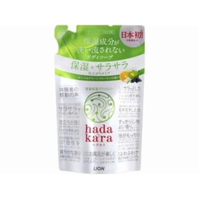 hadakara(ハダカラ)ボディソープ グリーンシトラスの香り詰替 ライオン
