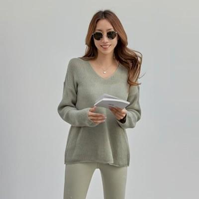 PIPPIN レディース ニット/セーター Toto V-Neck Knitwear #108969