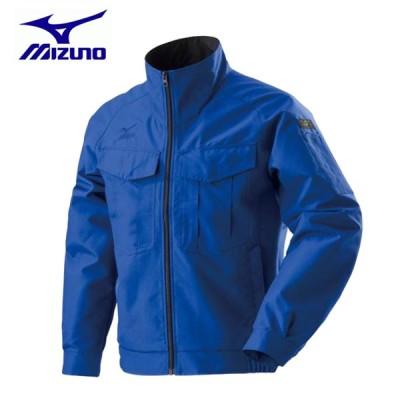 ワークウェア ミズノ タフブレーカージャケット ワーキング C2JE819025 サーフブルー