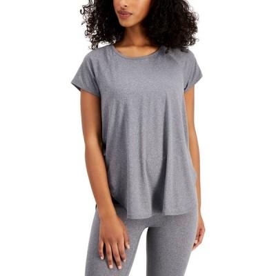 イデオロギー Ideology レディース Tシャツ トップス Sweat Set T-Shirt Gray