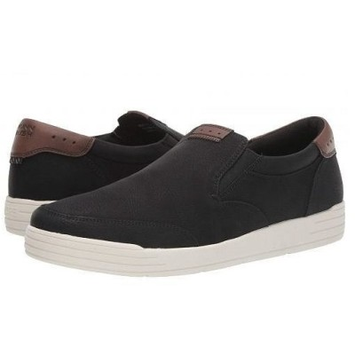 Nunn Bush ナンブッシュ メンズ 男性用 シューズ 靴 スニーカー 運動靴 Kore City Walk Moc Toe Slip-On - Black