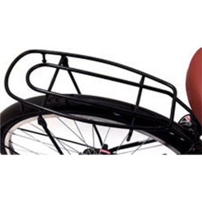 クラス25 自転車26インチVフレーム用荷台 キャリア シートピン止め用ブラック
