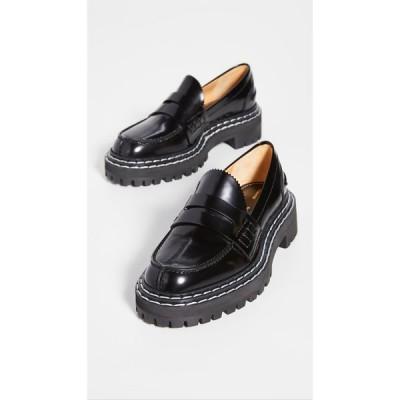 プロエンザ スクーラー Proenza Schouler レディース ローファー・オックスフォード シューズ・靴 Lug Sole Loafers Black