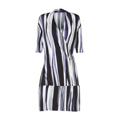 MARC CAIN ミニワンピース&ドレス ブラック 4 レーヨン 92% / ポリウレタン® 8% ミニワンピース&ドレス