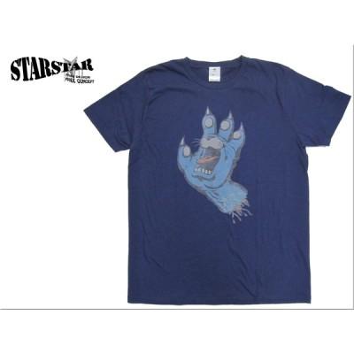 半袖Tシャツ スクリーミングハンド風 キャット柄 la0940 Star Star スター スター グラフィック 国内 TOKAGEYA