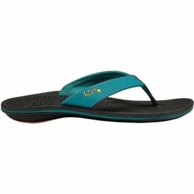 オルカイ OluKai レディース サンダル・ミュール シューズ・靴 Olukai KiaI Wahine Sandal Teal/Black