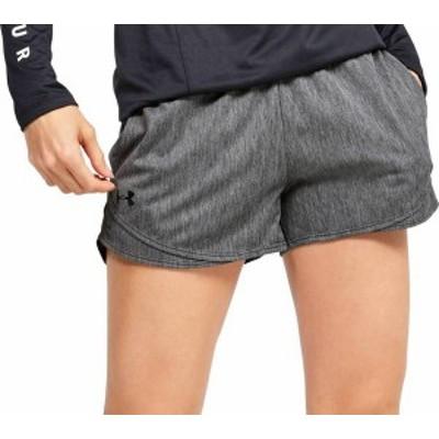 アンダーアーマー レディース ハーフパンツ・ショーツ ボトムス Under Armour Women's Play Up 3.0 Shorts Jet Gray/Jet Gray