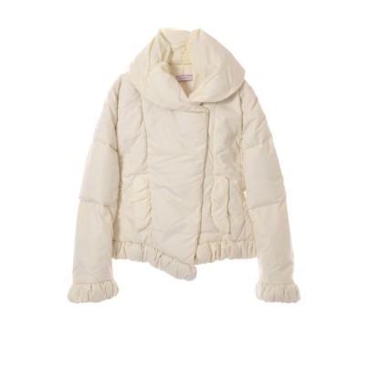 MAX&Co. キルテッド 中綿 ジャケット 36 ホワイト マックスアンドコー