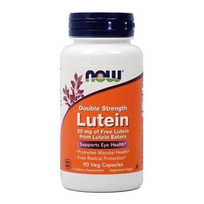 ナウフーズ ルテインダブルストレングス 20mg 90ベジカプセル NOW FOODS Lutein, Double Strength mg  90 Veg Capsules