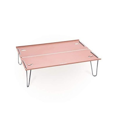 OMUKY Folding Table Camping Mini Table Folding Aluminum Alloy Compact Light