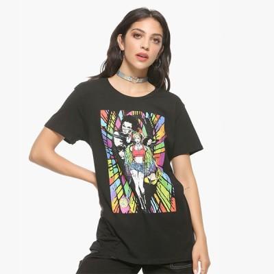 ハーレイクイン グッズ tシャツ DCコミックス Birds Of Prey ガールズTシャツ 華麗なる覚醒