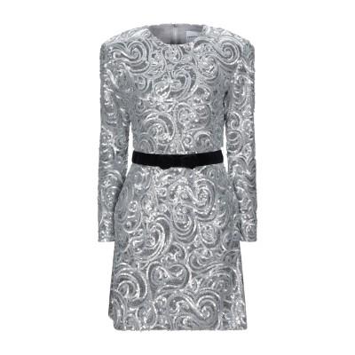PERSEVERANCE ミニワンピース&ドレス シルバー 8 ポリエステル 100% ミニワンピース&ドレス