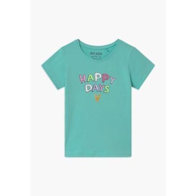 ブルーセブン キッズ ファッション SMALL GIRLS RAINBOW - Print T-shirt - aqua