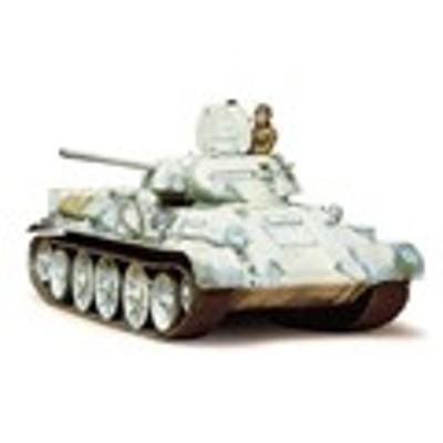 タミヤ TAMIYA 1/35 ミリタリーミニチュアシリーズ No.049 ソビエト戦車 T34/76 1942年型 玩具 /35 SCALE RUS. T34/76-1942