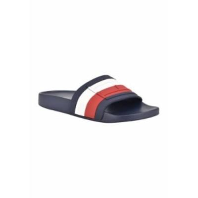 トミー ヒルフィガー レディース サンダル シューズ Deqlin Slide Sandals RED MULTI SY