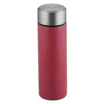 水筒 ステンレス コップ1杯持ち歩き プチボトル 180ml ミニ レッド