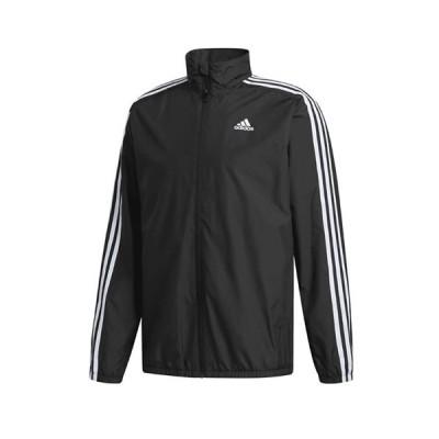 【送料無料】adidas アディダス ストライプス ウインドブレーカージャケット (裏起毛) ブラック FYK45