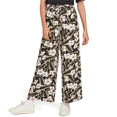ボルコム レディース カジュアルパンツ ボトムス Volcom x Coco Ho Belted Pants - Women's Black
