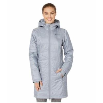 コロンビア レディース コート アウター Mighty Lite¢ Hooded Jacket Tradewinds Grey