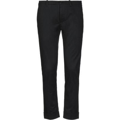 OBVIOUS BASIC パンツ ブラック 44 コットン 77% / ポリエステル 20% / ポリウレタン 3% パンツ