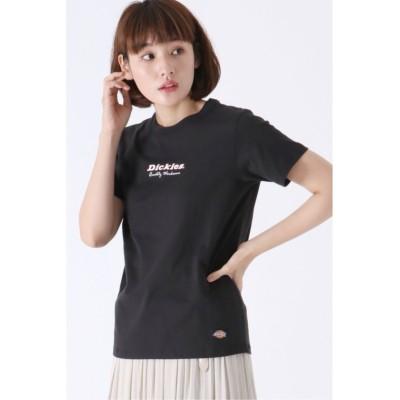(ikka/イッカ)Dickies ロゴプリントTシャツ/レディース ブラック
