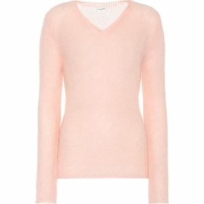 イヴ サンローラン Saint Laurent レディース ニット・セーター トップス Mohair-blend sweater Pale Pink