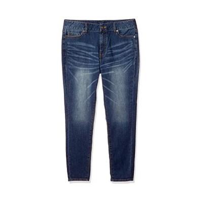 [セシール] ジーンズ プランプ 大きいサイズ スキニー 美脚パンツ AW-962 レディース