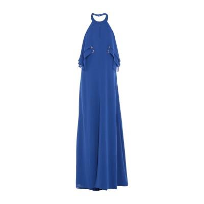 アレッサンドロデラクア ALESSANDRO DELL'ACQUA ロングワンピース&ドレス ダークブルー 42 ポリエステル 100% ロングワン