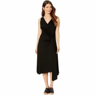 カレンケーン Karen Kane レディース ワンピース ラップドレス ワンピース・ドレス Asymmetric Wrap Dress Black