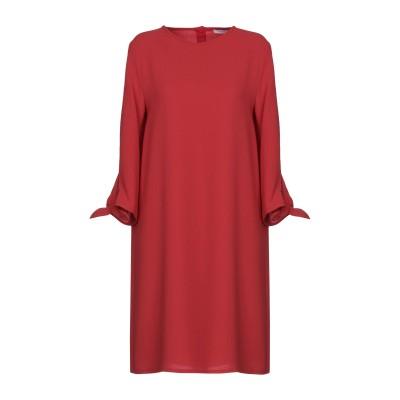 I BLUES ミニワンピース&ドレス レッド 40 100% ポリエステル ミニワンピース&ドレス