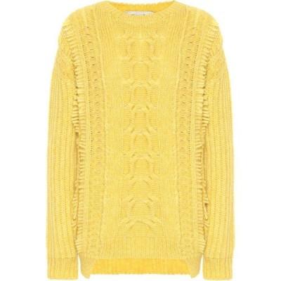 ステラ マッカートニー Stella McCartney レディース ニット・セーター トップス alpaca and wool-blend sweater Canary Yellow