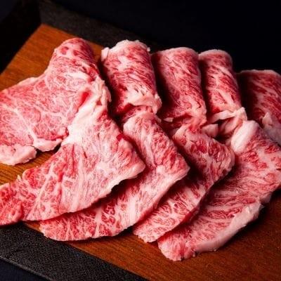 米沢牛焼肉セット(カルビ&もも)400g<肉の大場>
