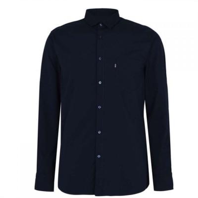 ヒューゴ ボス Boss メンズ シャツ トップス Magneton Shirt Dark Blue
