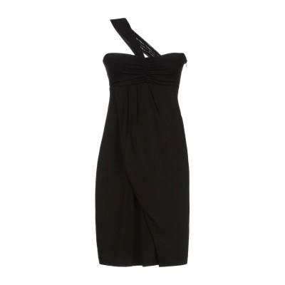 JEI O' ミニワンピース&ドレス ブラック 42 ナイロン 100% ミニワンピース&ドレス