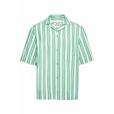 Acne Studios メンズシャツ Acne Studios Simon Striped Cotton Shirt