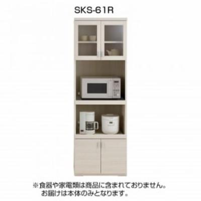 フナモコ 日本製 スマートキッチンシリーズ 家電ボード SKS-61R ホワイトウッド 家具