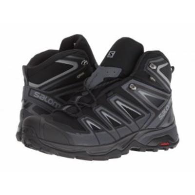 Salomon サロモン メンズ 男性用 シューズ 靴 ブーツ ハイキング トレッキング X Ultra 3 Mid GTX Black/India Ink/Monument【送料無料】