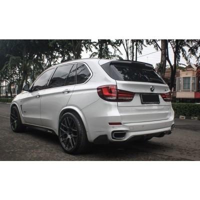 BMW F15 X5 Mスポーツ X5M 用 パフォーマンスタイプ カーボン サイドスカートセット サイドステップ ガーニッシュ