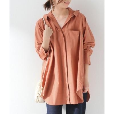 シャツ ブラウス 【Villd/ヴィルド】フードシャツ【手洗い可】