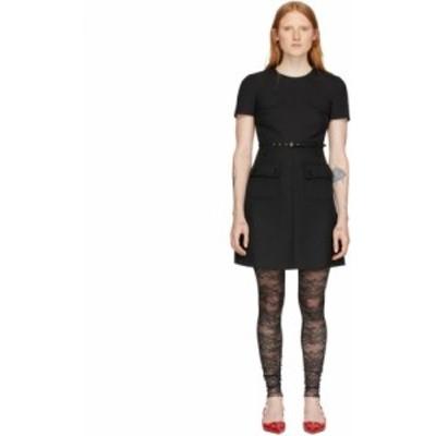ヴァレンティノ RED Valentino レディース ワンピース ワンピース・ドレス Black Front Pockets Dress Black