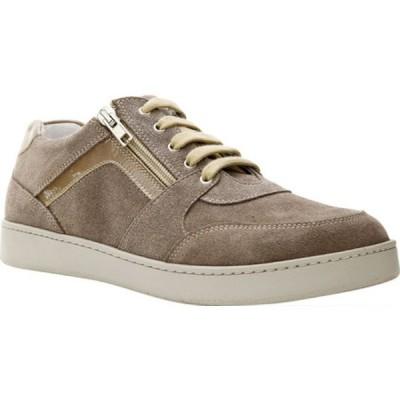 ダイビッドテイト レディース スニーカー シューズ Traveler Sneaker Taupe Suede/Patent