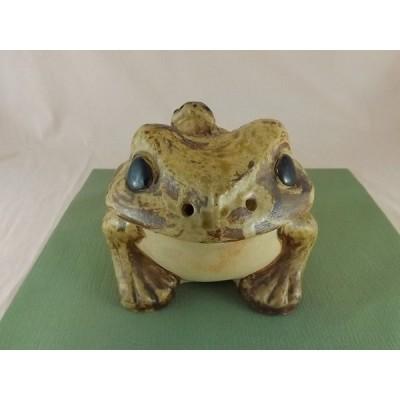 信楽焼き カエルの親子置物 蛙の置物 かえる 特大