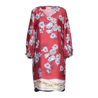 LAFTY LIE ミニワンピース&ドレス レッド 44 ポリエステル 100% ミニワンピース&ドレス