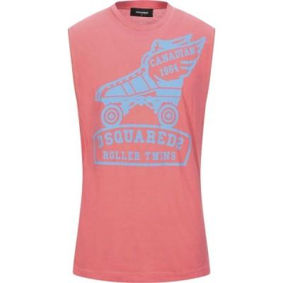 ディースクエアード DSQUARED2 メンズ Tシャツ トップス T-Shirt Coral
