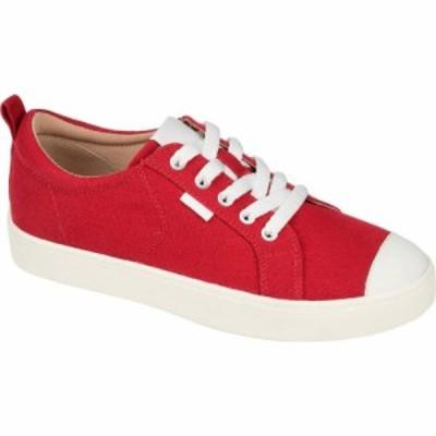 ジュルネ コレクション Journee Collection レディース スニーカー シューズ・靴 Comfort Foam(TM) Meesh Sneakers Red