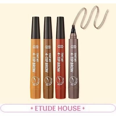 エトゥィドハウス[ETUDE HOUSE]  清純偽り眉肌目ティントブラウ  2G / ETUDE HOUSE TINT MY 4 TIP BROW 2G